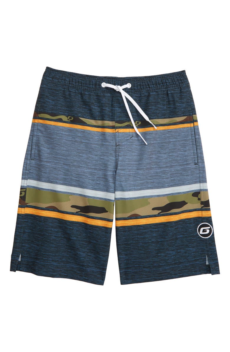 GROM Top Side Board Shorts, Main, color, 300