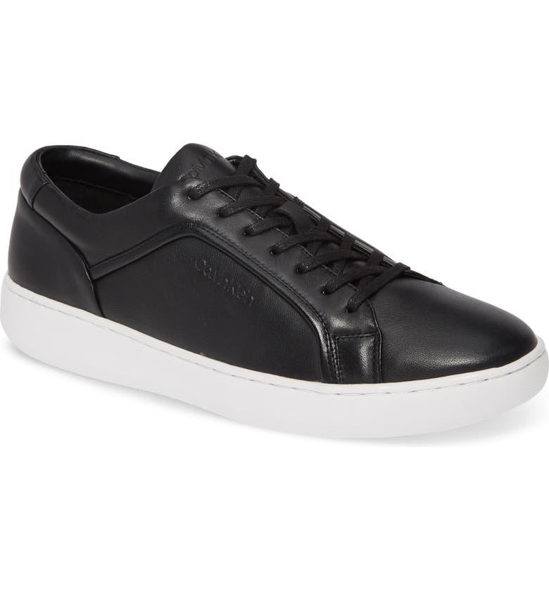 CALVIN KLEIN Fasano Sneaker, Main, color, 001