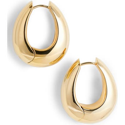 Tom Wood Large Ice Hoop Earrings