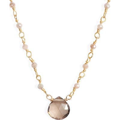 Era Rae Semiprecious Stone Collar Necklace