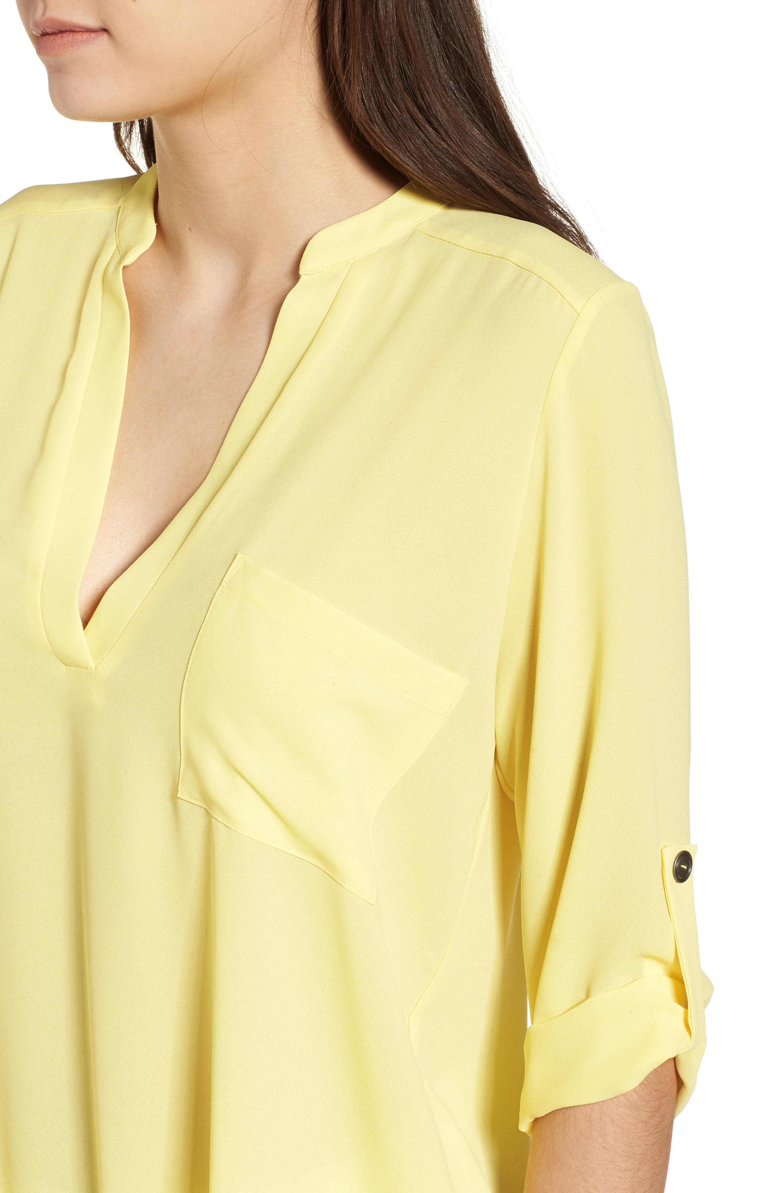 ,                             Perfect Roll Tab Sleeve Tunic,                             Alternate thumbnail 151, color,                             701