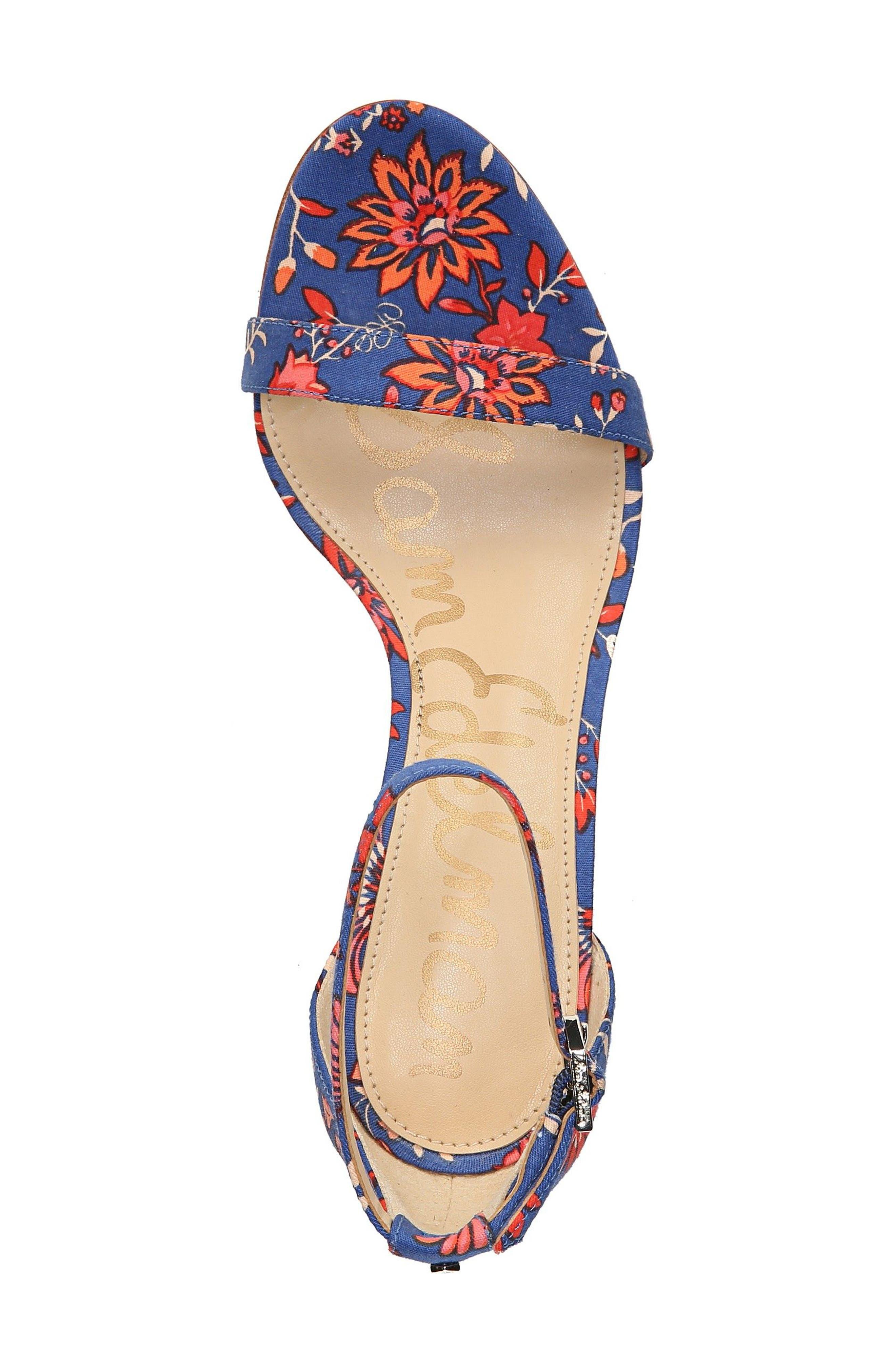 ,                             'Patti' Ankle Strap Sandal,                             Alternate thumbnail 106, color,                             405