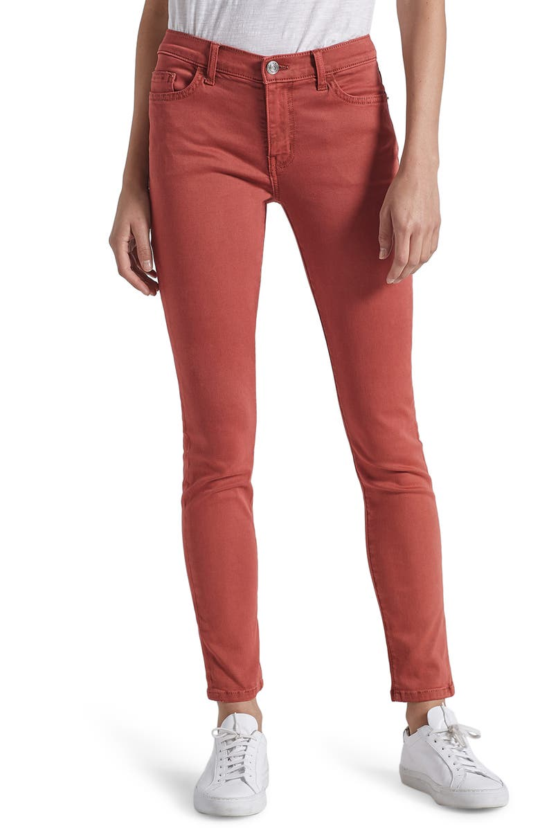CURRENT/ELLIOTT The Original Stiletto Jeans, Main, color, WASHED BERRY