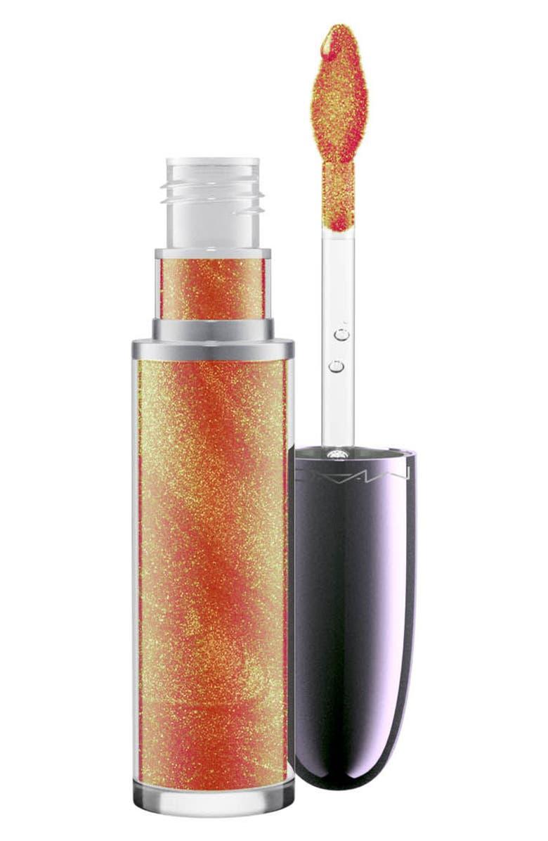 MAC COSMETICS MAC Grand Illusion Glossy Liquid Lipcolor, Main, color, LETS ROCK