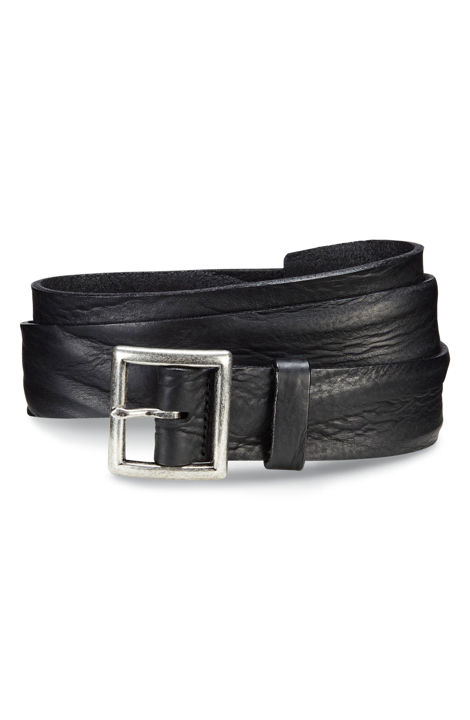 Radcliff Avenue Leather Belt ALLEN EDMONDS