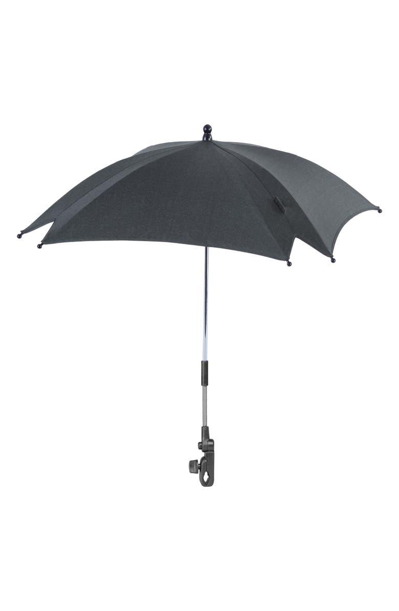 SILVER CROSS Coast Stroller Parasol, Main, color, BLACK