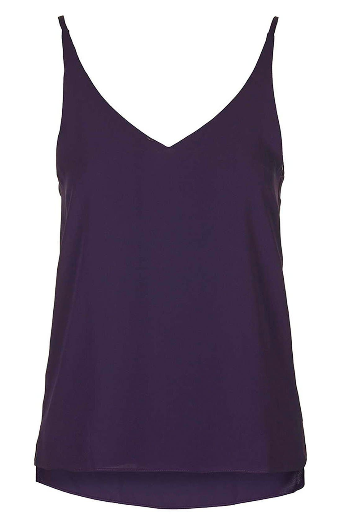 ,                             Strappy V-Neck Camisole,                             Alternate thumbnail 46, color,                             501