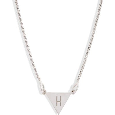 Karen London Say My Name Initial Necklace