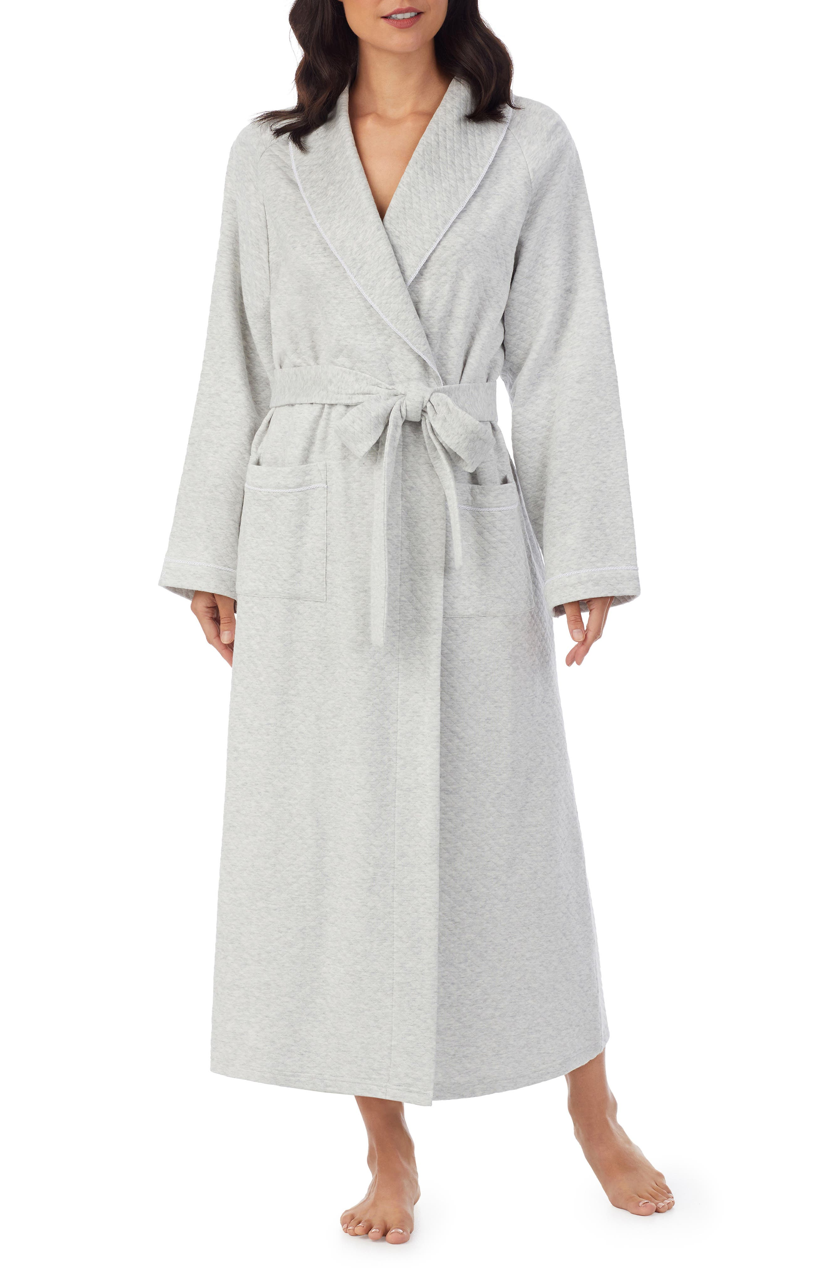 Diamond Quilted Robe