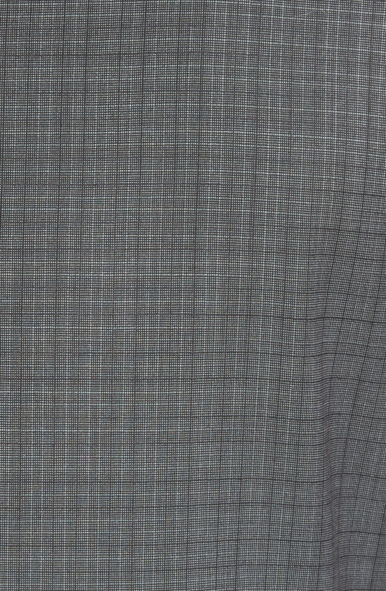 ,                             Classic Fit Check Wool Suit,                             Alternate thumbnail 7, color,                             GREY