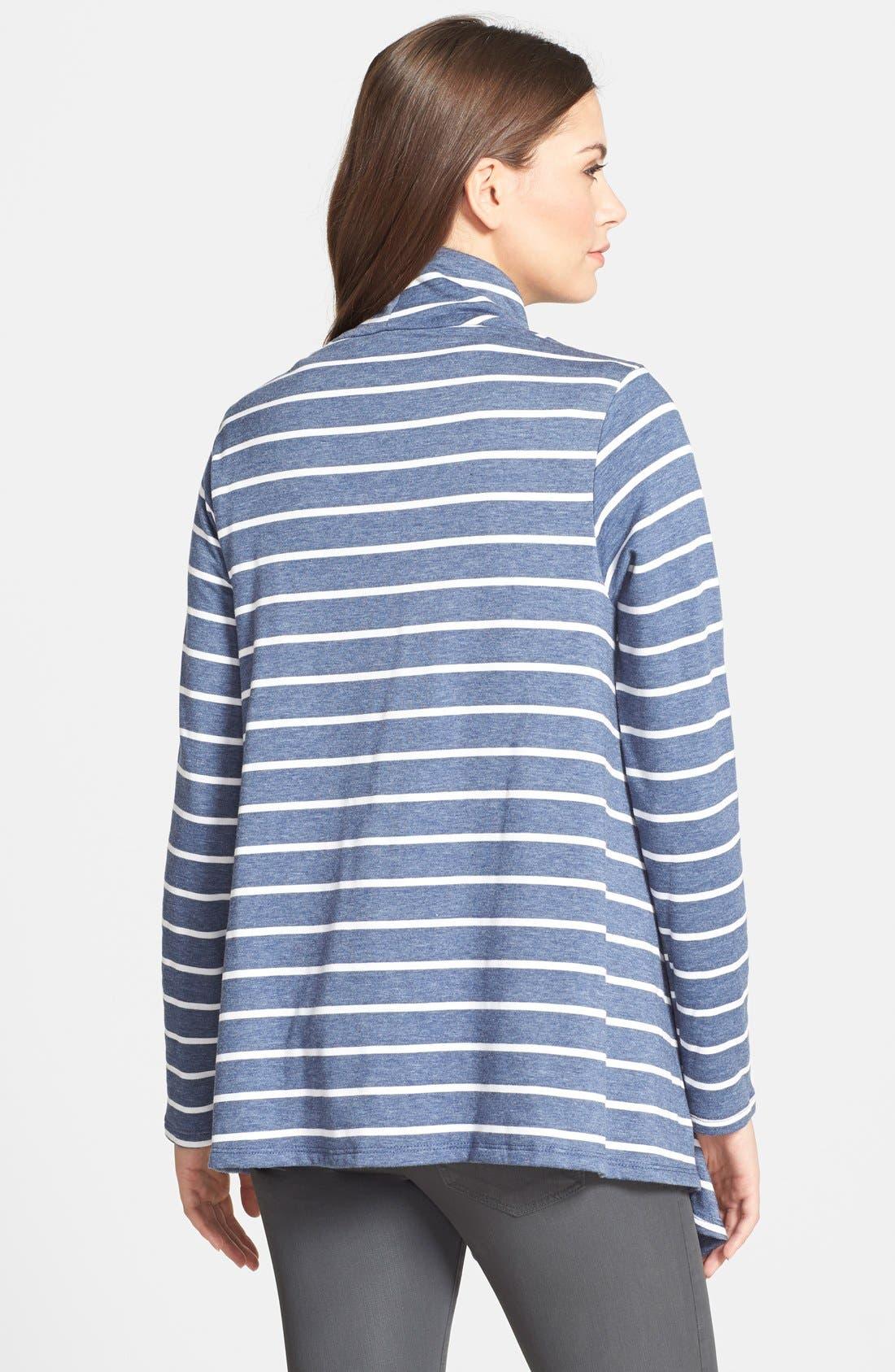 ,                             One-Button Fleece Wrap Cardigan,                             Main thumbnail 143, color,                             465