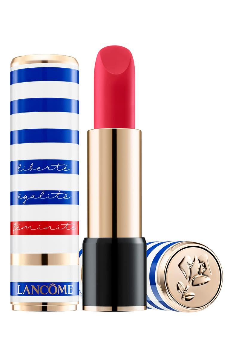 LANCÔME Liberty, Equality, Femininity L'Absolu Rouge Hydrating Lip Color, Main, color, IDOLE