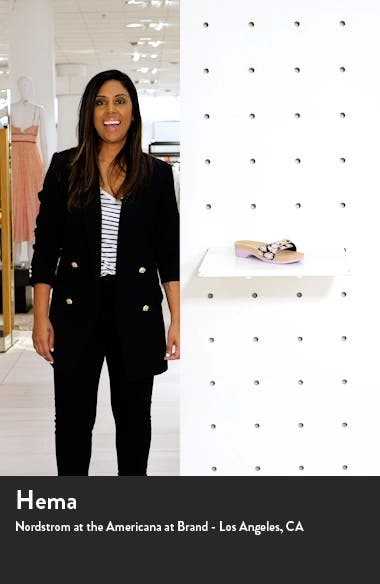 x kate spade new york Originally Platform Slide Sandal, sales video thumbnail