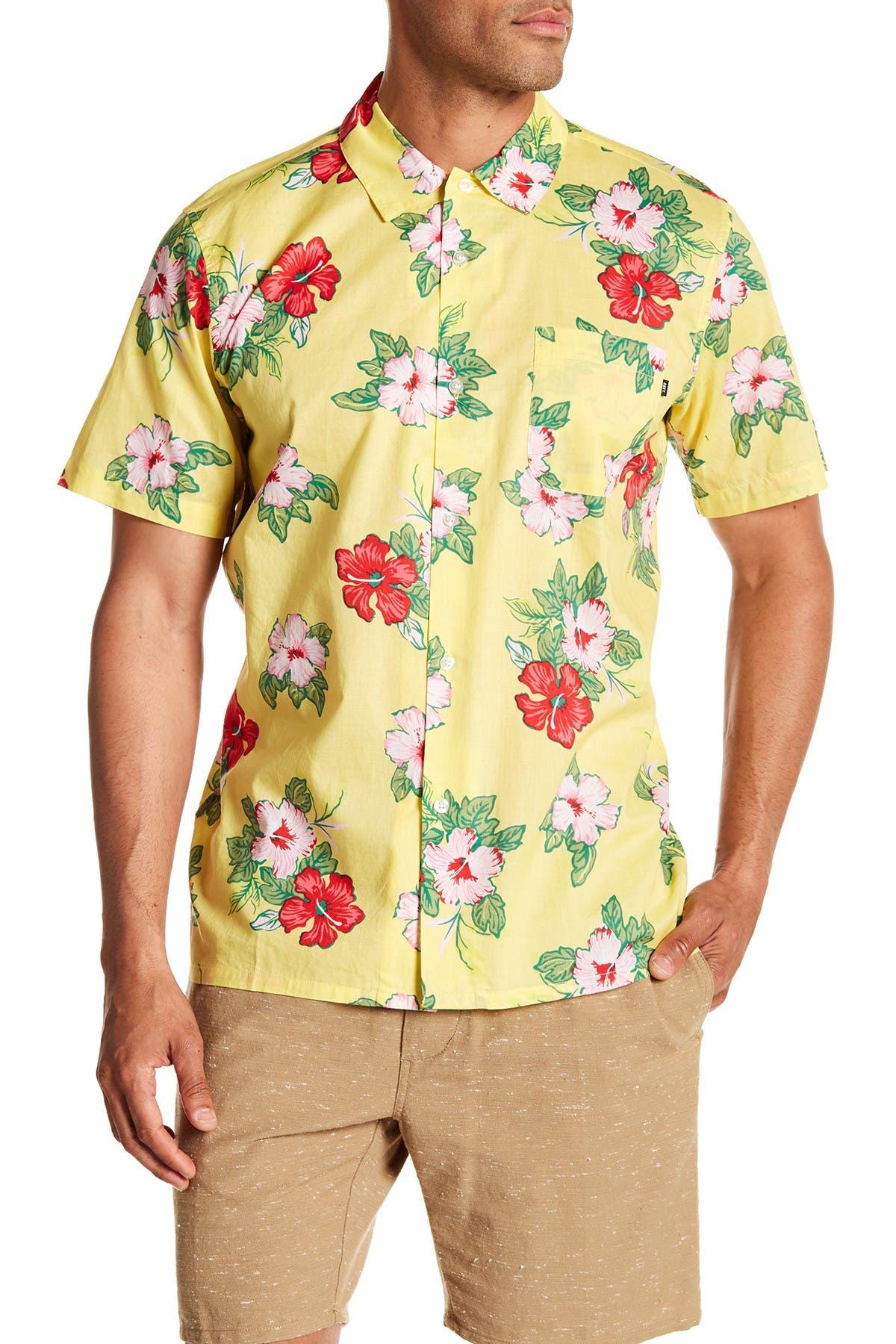 Image of Obey Kane Short Sleeve Regular Fit Shirt