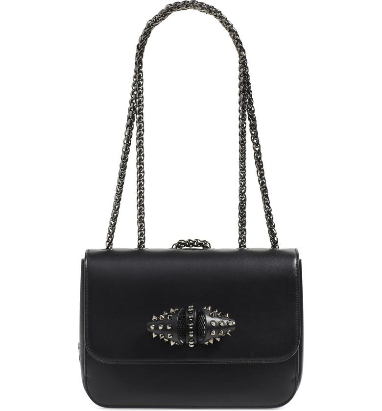 2f1badc2c9f Christian Louboutin 'Small Sweet Charity' Spiked Bow Flap Shoulder ...