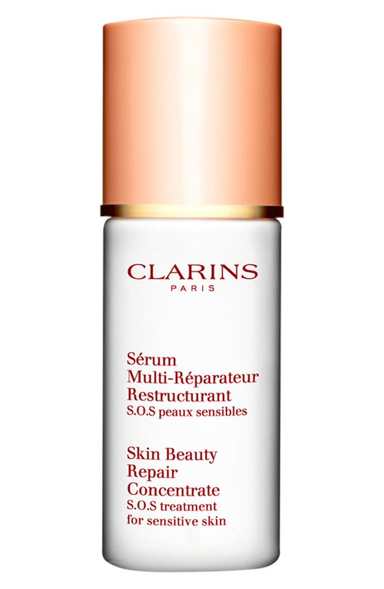 CLARINS Skin Beauty Repair Concentrate Serum S.O.S Treatment for Sensitive Skin, Main, color, NO COLOR