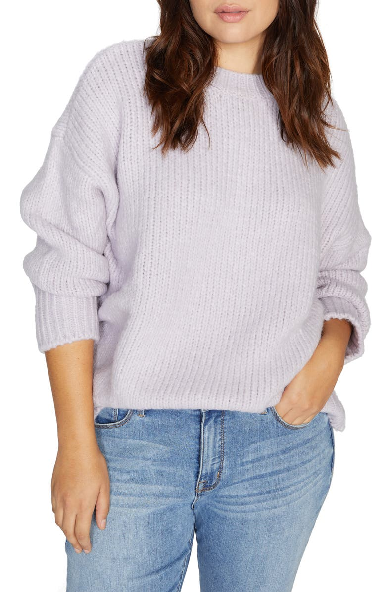 SANCTUARY Telluride Sweater, Main, color, LILAC SNOW