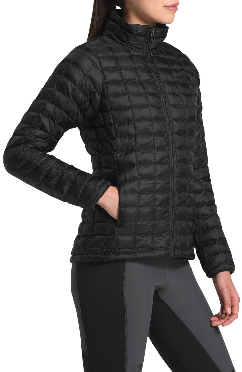 THE NORTH FACE ThermoBall<sup>™</sup> Eco Packable Jacket, Main, color, TNF BLACK MATTE