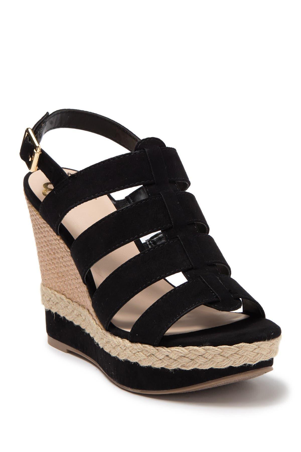 Violet Platform Wedge Sandal