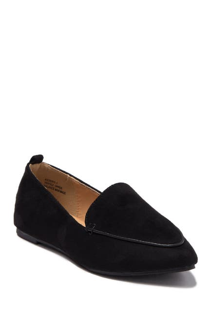 Image of Chase & Chloe Pointy Toe Loafer