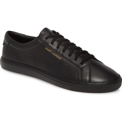 Saint Laurent Andy Low Top Sneaker, US / 44EU - Black