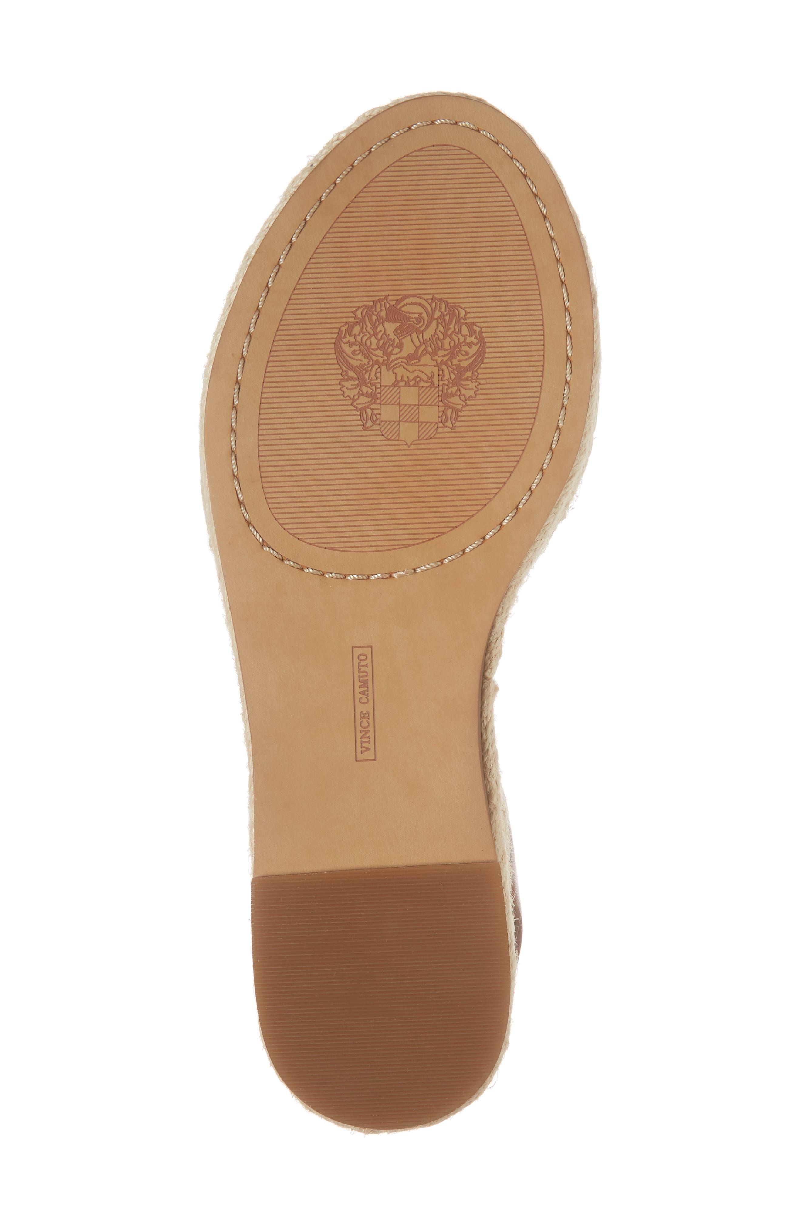 ,                             Kathalia Platform Sandal,                             Alternate thumbnail 6, color,                             SUMMER COGNAC LEATHER