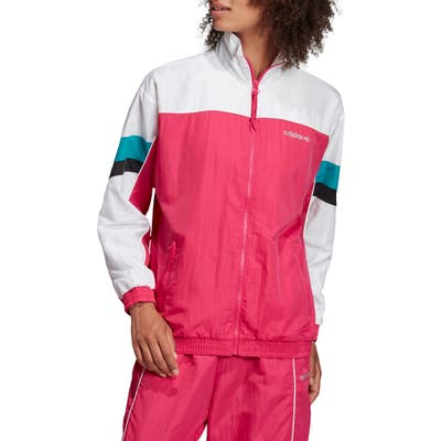 Adidas Originals Tech Track Jacket, Pink