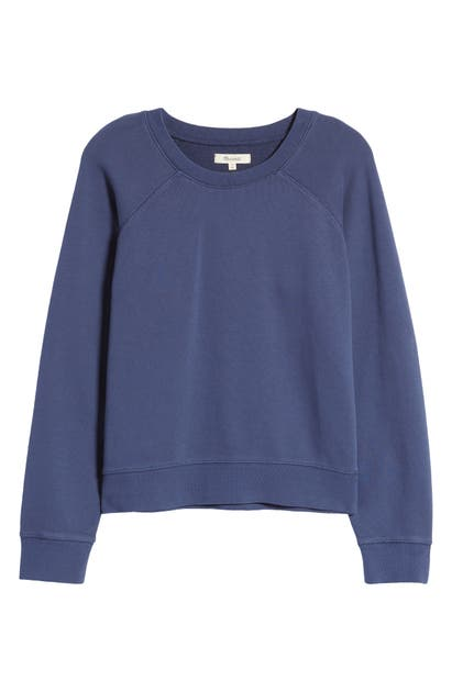 Madewell SHRUNKEN RECYCLED COTTON SWEATSHIRT