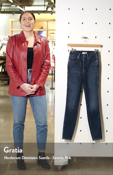 Good Curve High Waist Ankle Skinny Jeans, sales video thumbnail