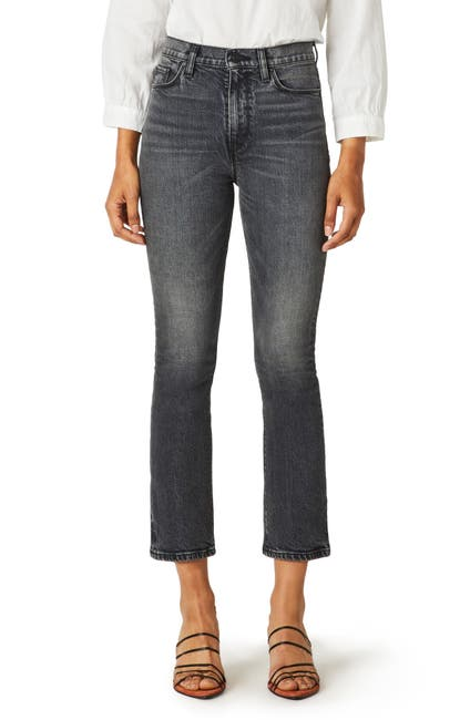 Image of HUDSON Jeans Holly High Waist Crop Bootcut Jeans