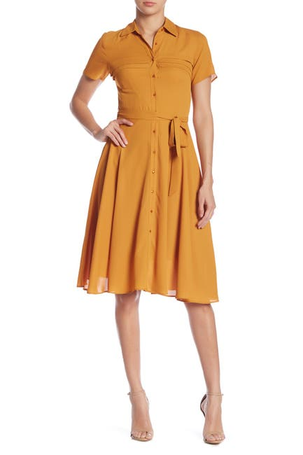 Image of NANETTE nanette lepore Pintuck Chiffon Dress