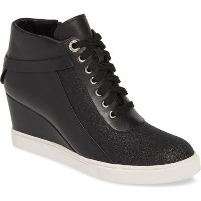 Linea Paolo Freja Wedge Sneaker- Black