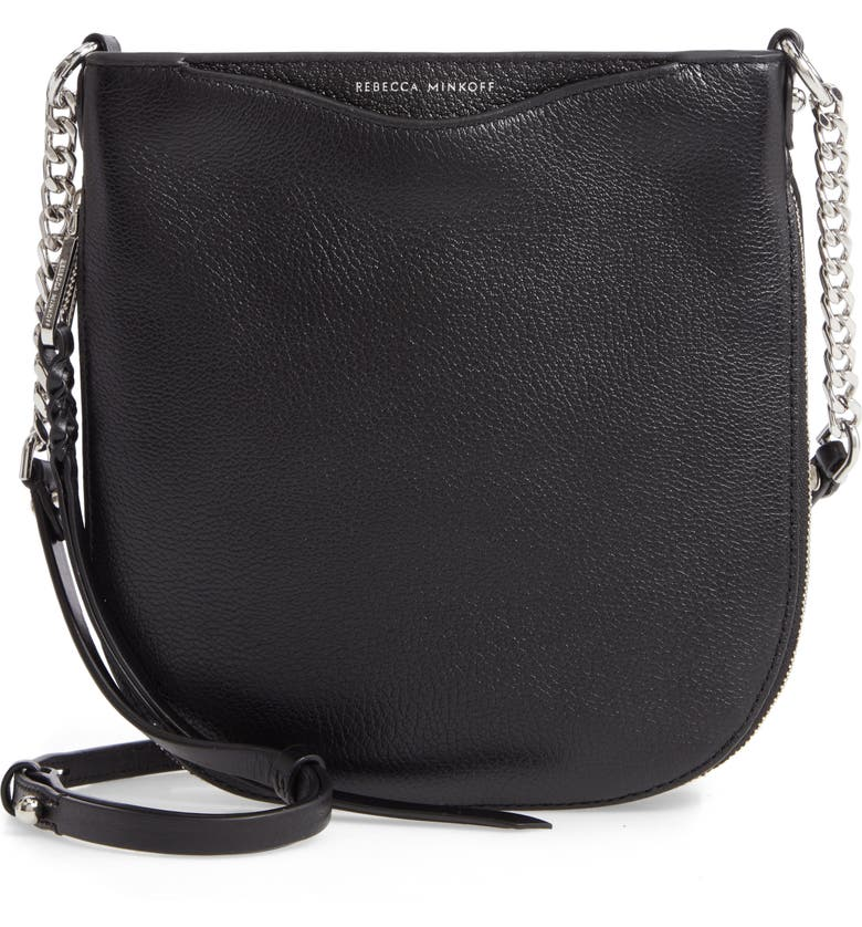 REBECCA MINKOFF Emma Swing Crossbody Bag, Main, color, BLACK
