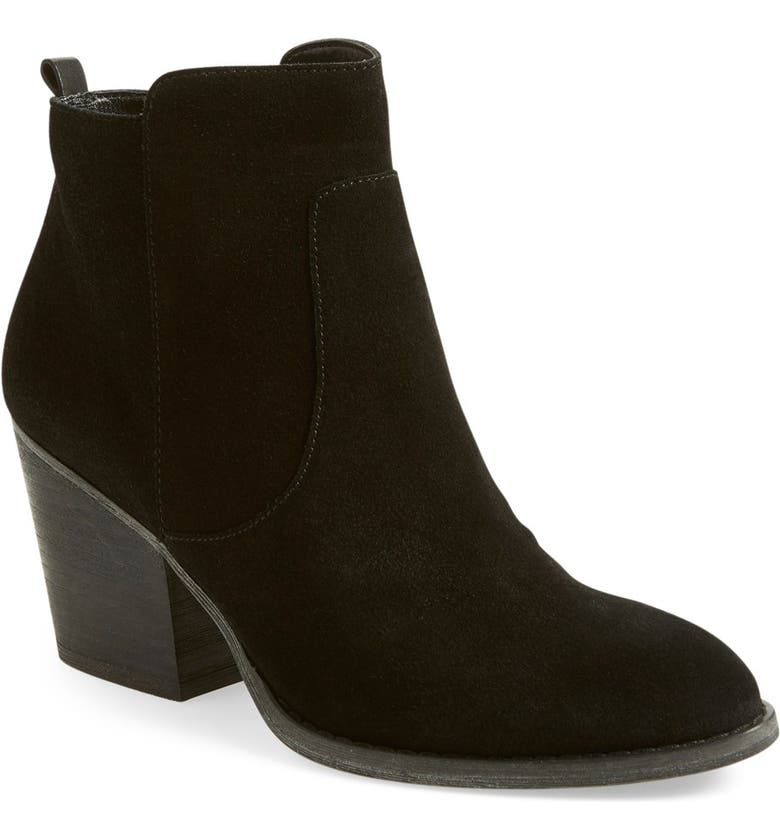 TREASURE & BOND 'Winsor' Block Heel Bootie, Main, color, 001