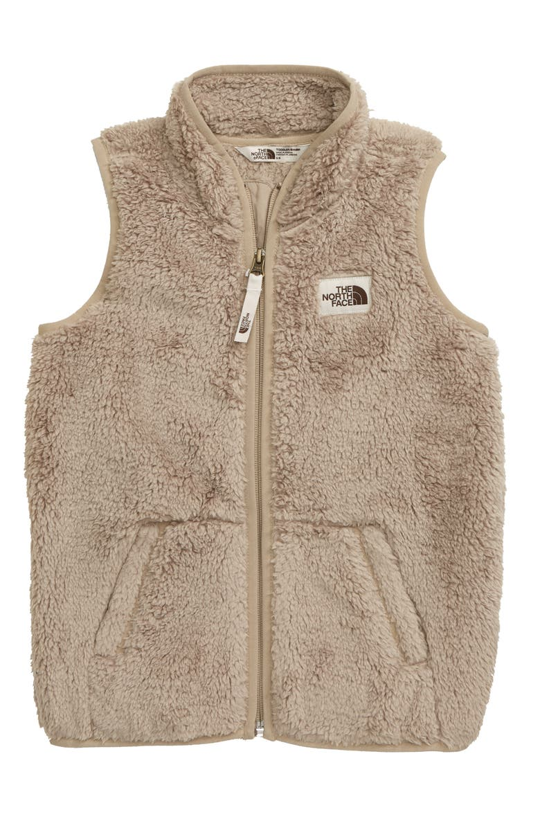 THE NORTH FACE Campshire Fleece Vest, Main, color, CROCKERY BEIGE