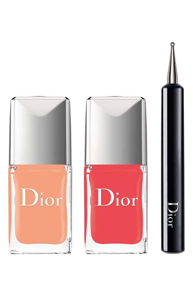 DIOR 'Vernis - Polka Dots' Color & Dots Manicure Kit, Main, color, 400