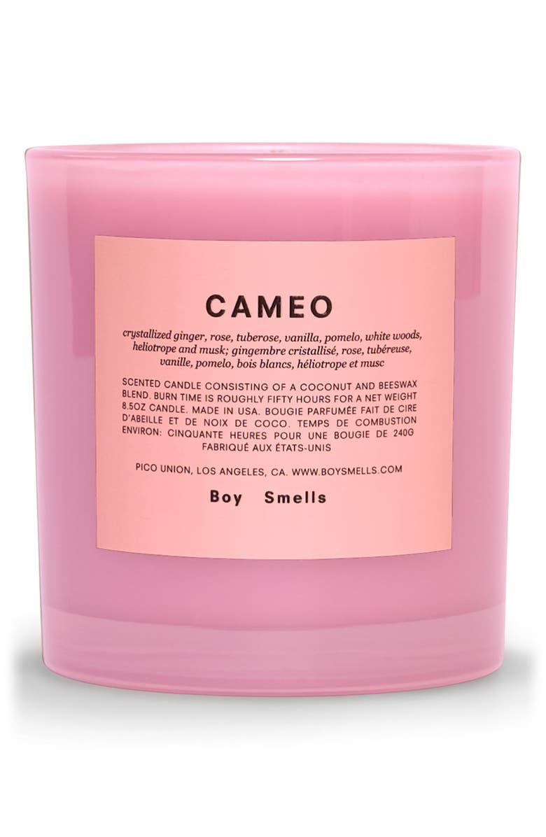 BOY SMELLS Cameo Scented Candle, Main, color, SLIPPER PINK
