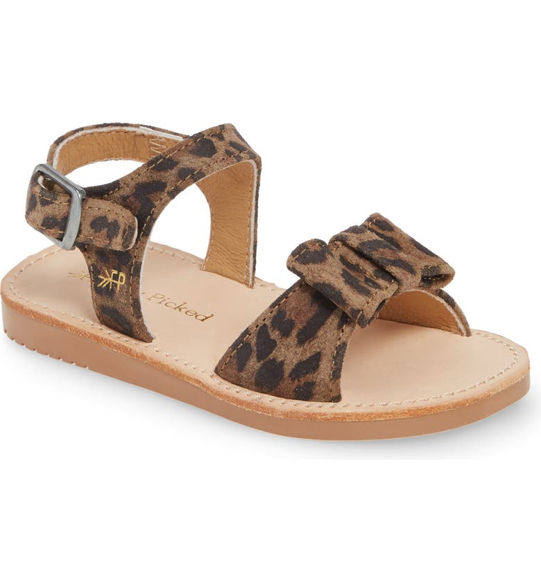 FRESHLY PICKED Bayview Water Resistant Sandal, Main, color, LEOPARD
