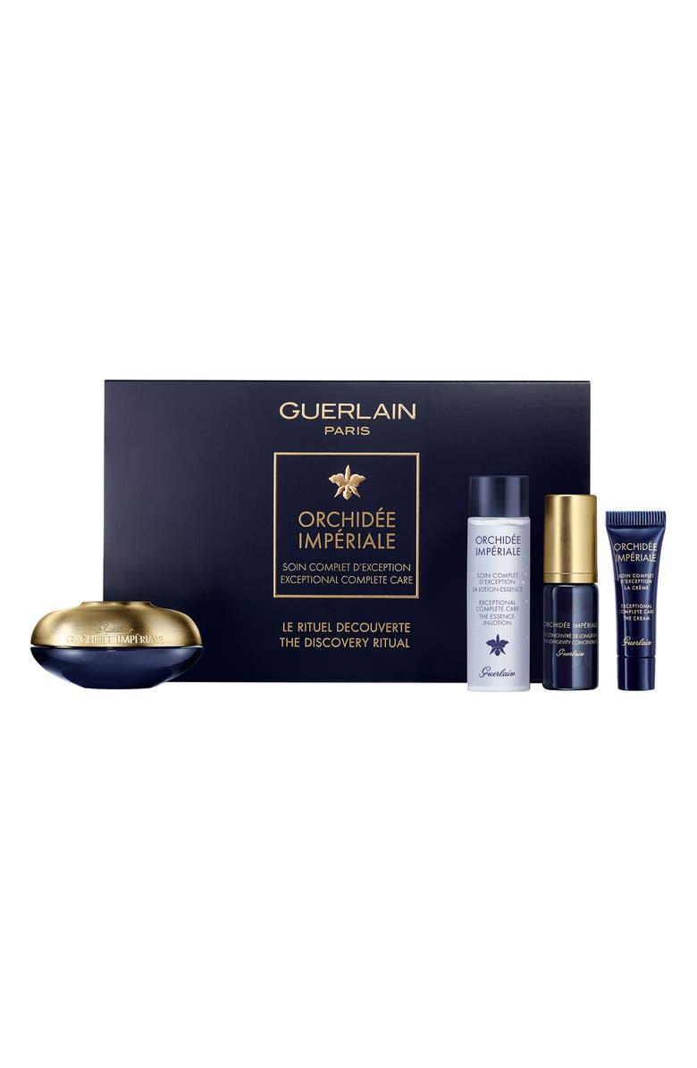 GUERLAIN Orchidée Impériale Anti-Aging Skin Care Discovery Set, Main, color, NO COLOR