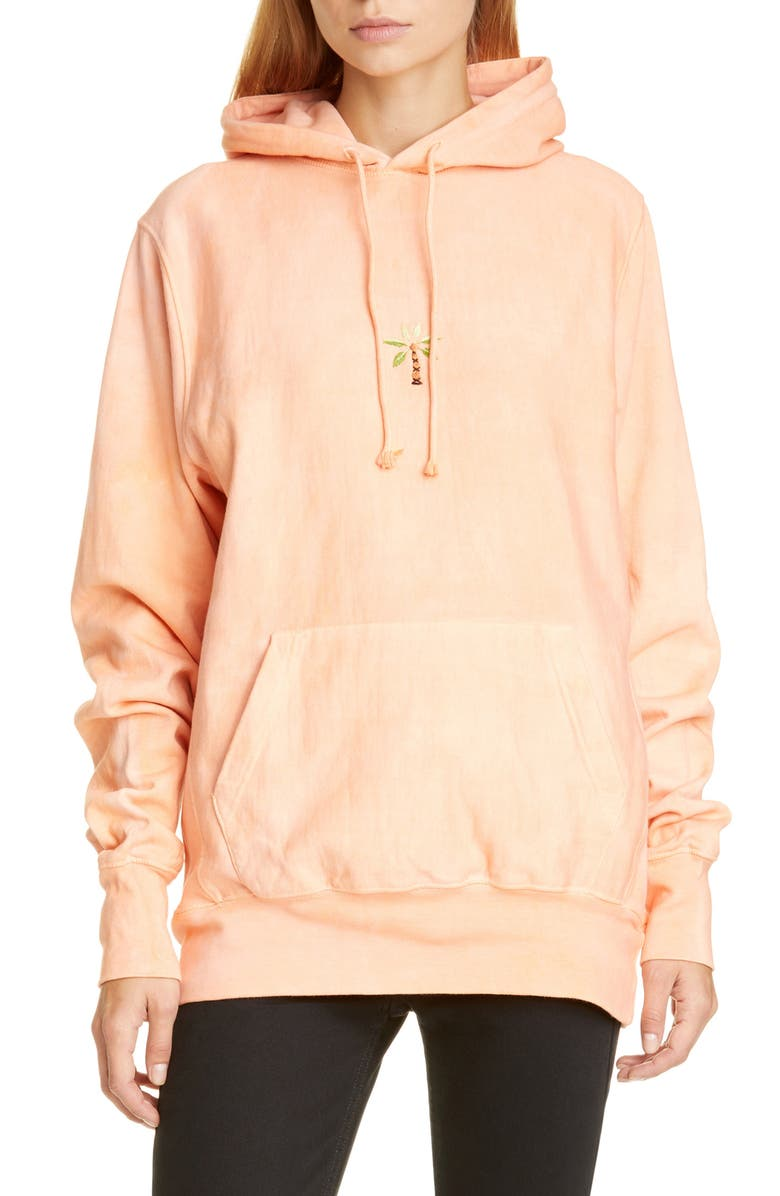 STORY MFG. Bloom Hoodie, Main, color, MADDER PINK
