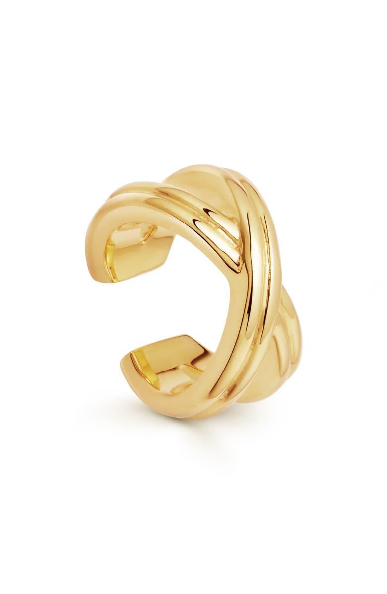 MISSOMA Infini Ear Cuff, Main, color, GOLD