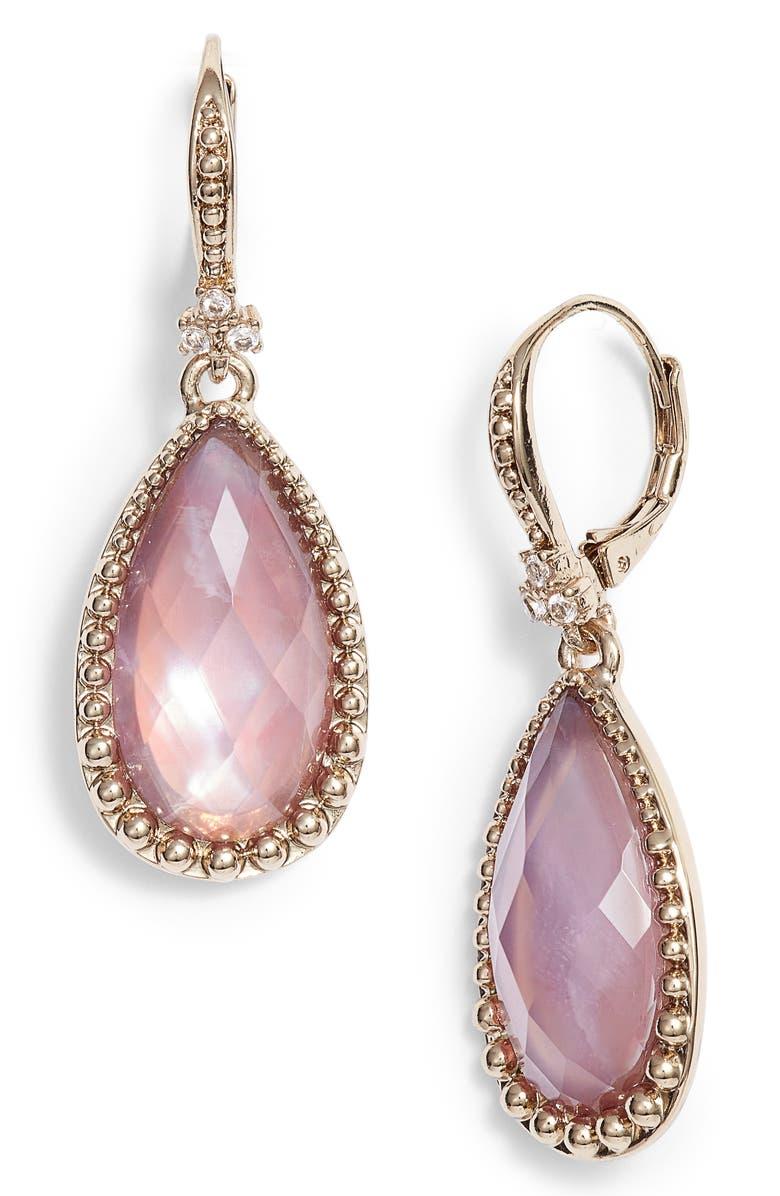 1c2138632 Marchesa Pear Stone Drop Earrings | Nordstrom