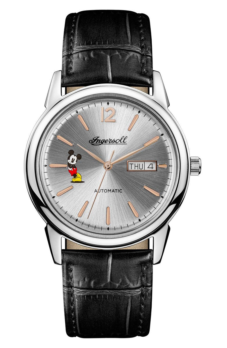 Ingersoll Trenton Disney Leather Strap Watch 31mm