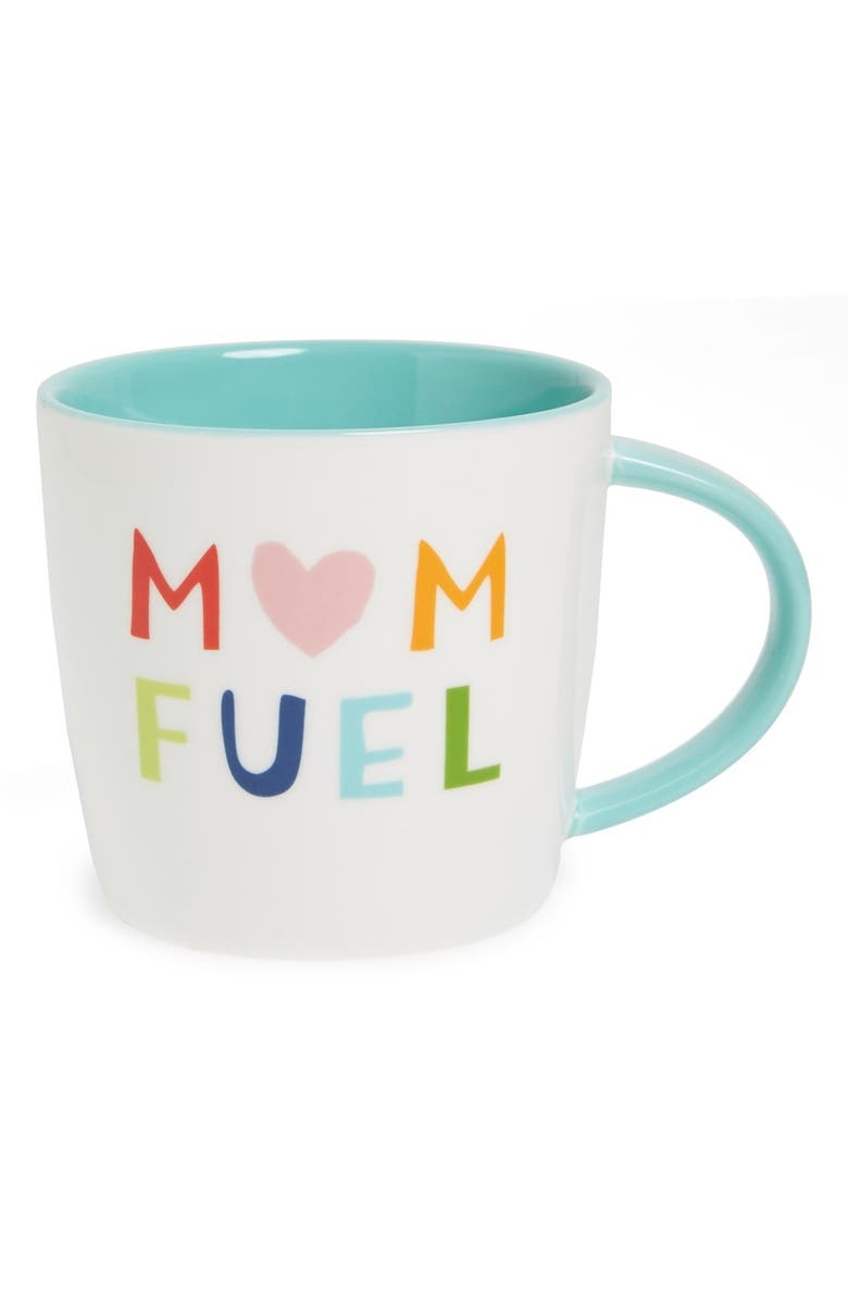 SLANT COLLECTIONS 'Mom Fuel' Coffee Mug, Main, color, 100