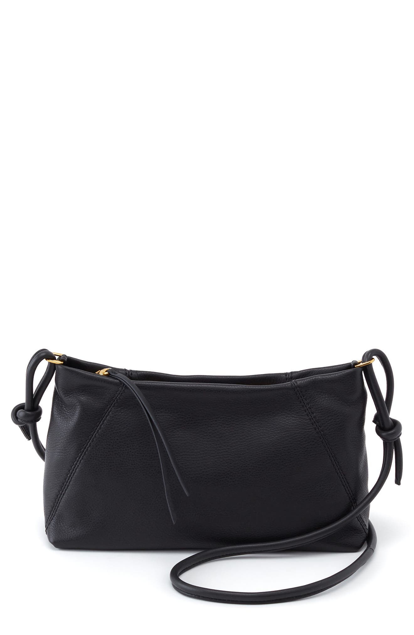 Vision Leather Crossbody Bag