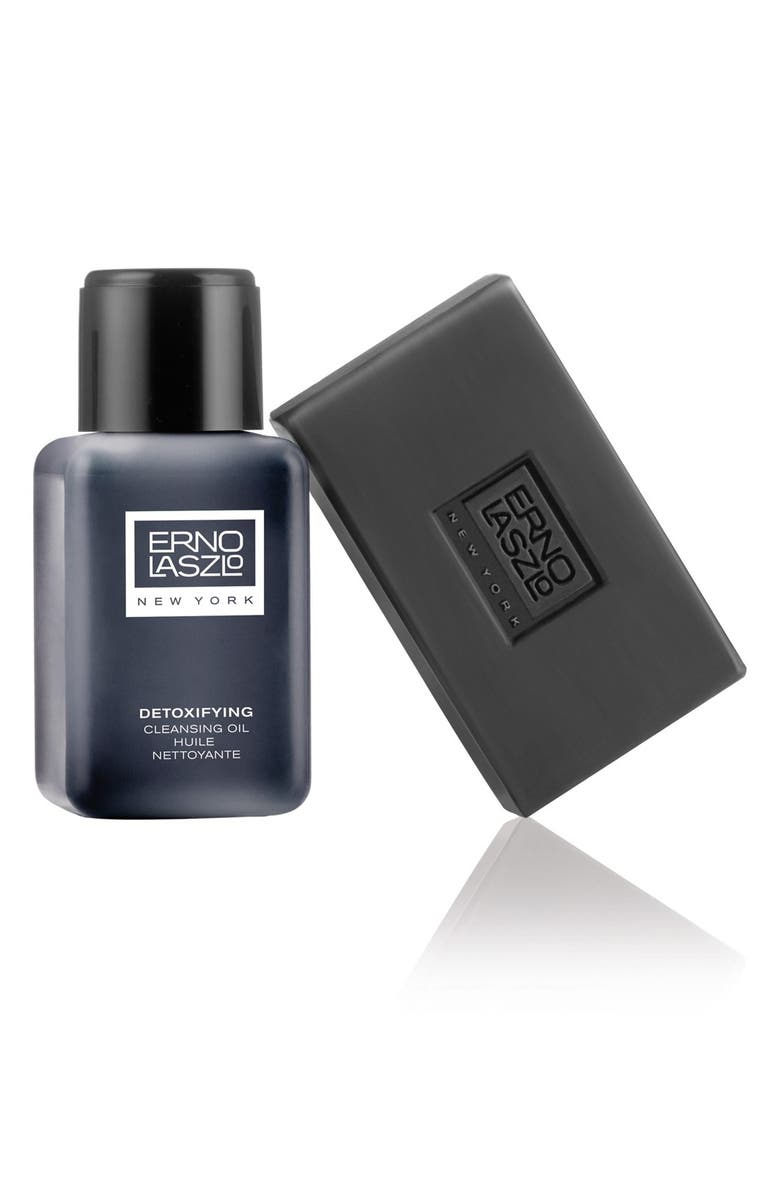ERNO LASZLO Detoxifying Double Cleanse Travel Set, Main, color, NO COLOR