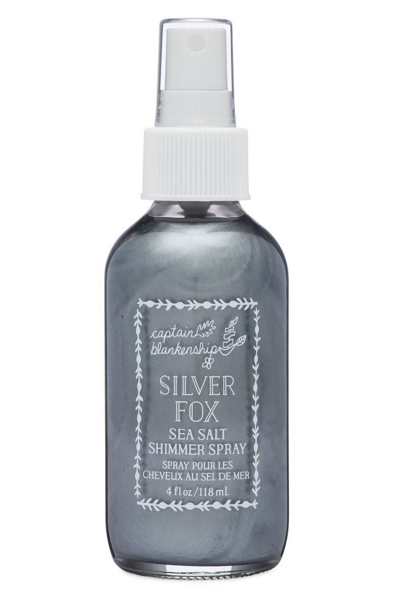CAPTAIN BLANKENSHIP Silver Fox Sunset Sea Salt Shimmer Spray, Main, color, NO COLOR