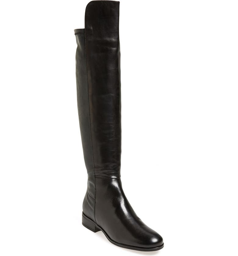 DUNE LONDON 'Trish' Over the Knee Boot, Main, color, 002