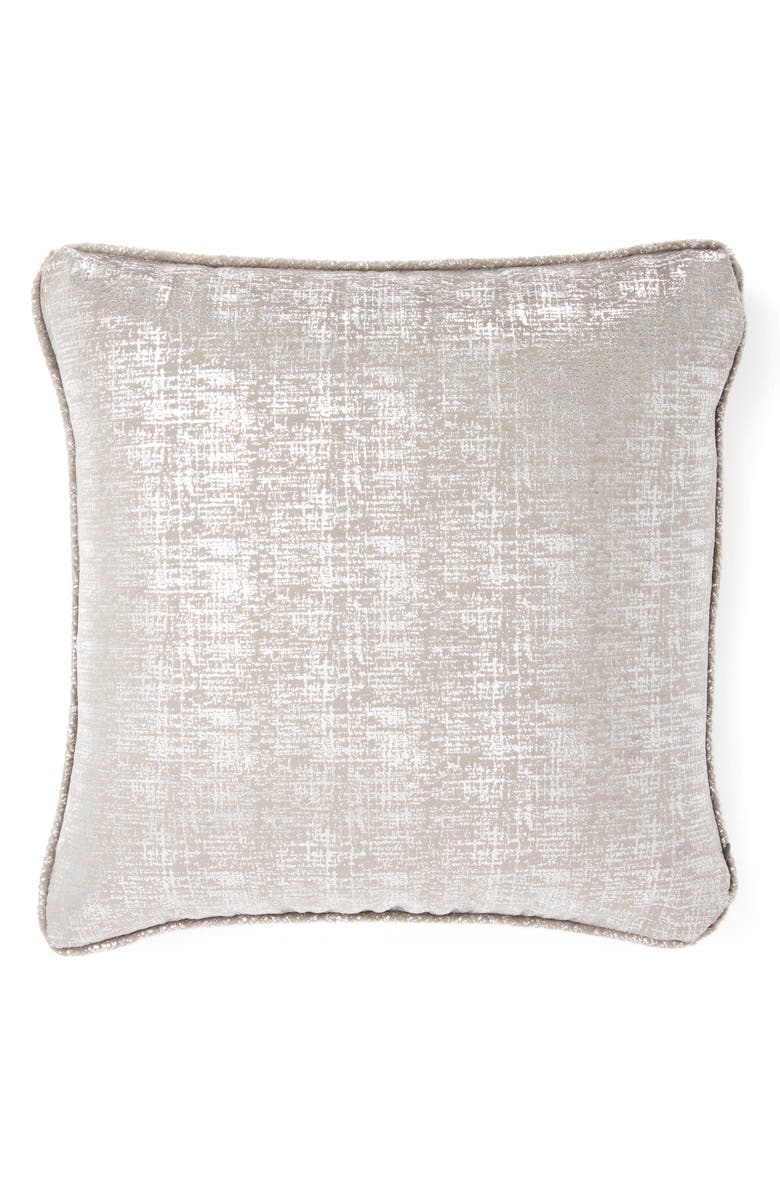 GIRAFFE AT HOME Luxe<sup>™</sup> Lustre Pillow, Main, color, CHARCOAL