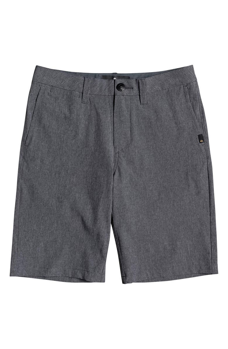 QUIKSILVER Union Amphibian Hybrid Shorts, Main, color, BLACK